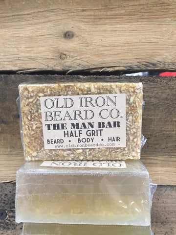 Old Iron Beard Co. - Half Grit Soap