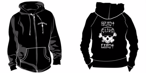 "CHKC Hoodies ""Beast Coast"" ZIP-UP - SALE!!!!"