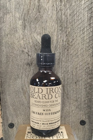 Old Iron Beard Co. Beard Oil - Drunken Lumberjack