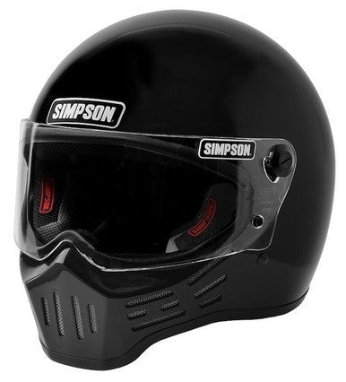 Simpson M30 Helmet-Gloss Black