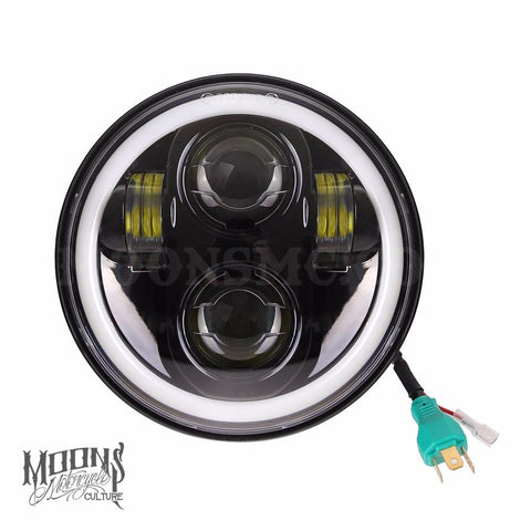 MoonsMC Halo Moonmaker replacement LED headlight (5 3/4)""