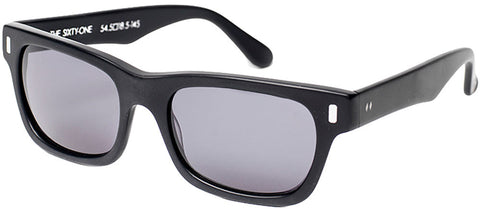 "Tres Noir ""Sixty-One"" Sunglasses (Matte Black)"