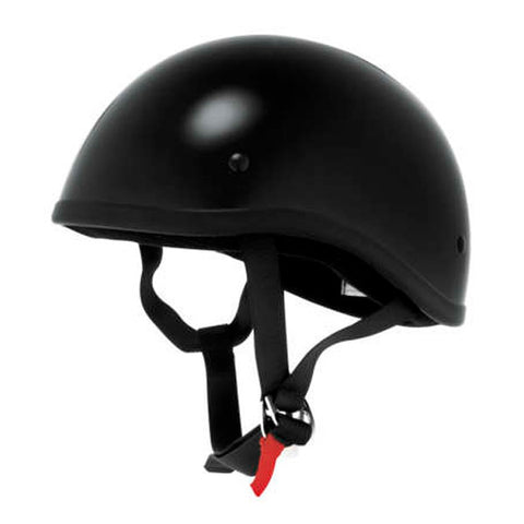 Daytona DOT Half Helmet-Gloss Black