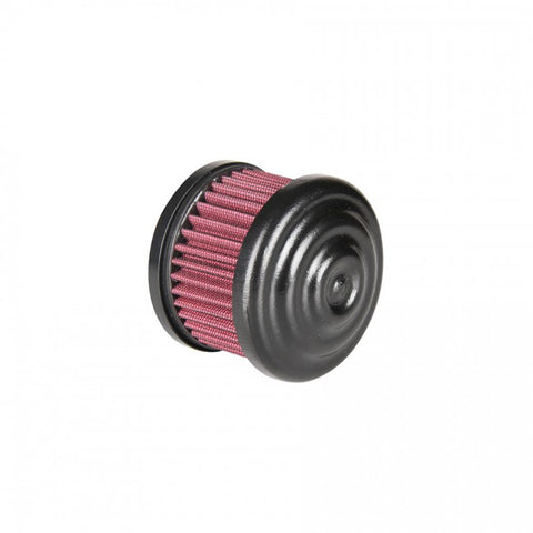 TC Bros black ripple air cleaner (CV Carb or EFI)