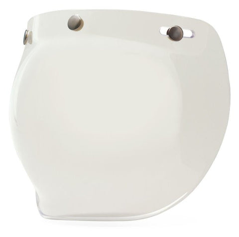 Bell 3-Snap Bubble Shield (clear) - fits Custom 500, RT, Shorty, and most others 3 Snap Helmets