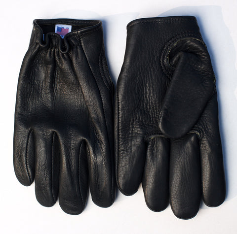 "Choppahead Kevlar-Lined ""Defender"" Gloves (Men's) - Black"