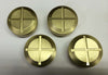 Choppahead Brass Rocker Inspection Caps