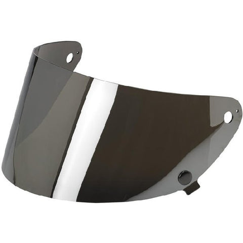 Biltwell Gringo S Flat Shield - Chrome Mirror