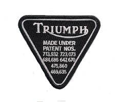 Patent Plate Black/Chrome