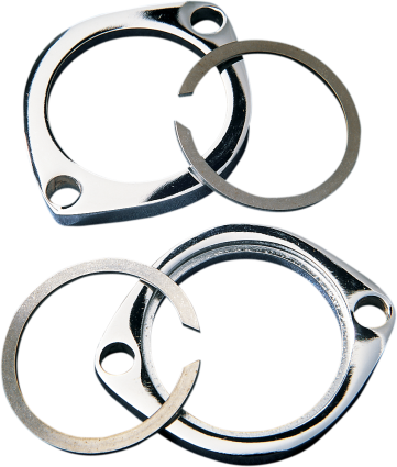Replacement Exhaust Flange Kit (84-17 Harley Motorcycles)
