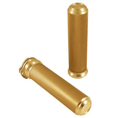 "Speed Merchant Speed Grips-1"" Gold"