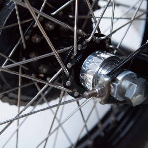 Troy Fab Triumph Speedo Spacer Hubs