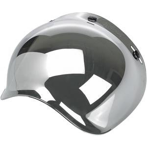 Biltwell Bubble Shield-Chrome