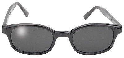 KD's Sunglasses-Black/Smoke