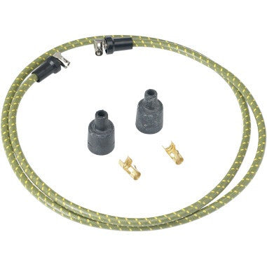 Lowbrow Customs Cloth Spark a Wire Set-Green & Yellow