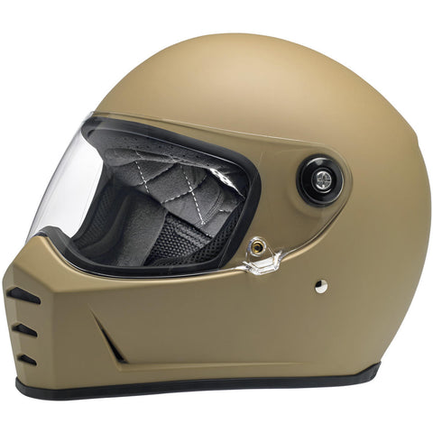 Biltwell Lane Splitter Helmet - Coyote Tan