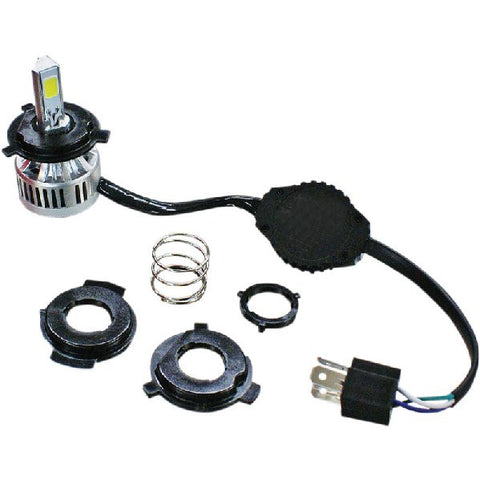 LED headlight replacement bulb (replaces all H4 Halogen bulbs)