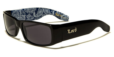 Loc's Sunglasses - black'n blues