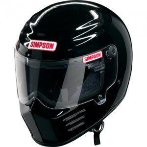 Simpson Outlaw Bandit Helmet - Gloss Black