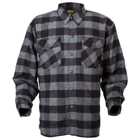 Scorpion Covert Flannel - Kevlar Lined! (Black and Gray)