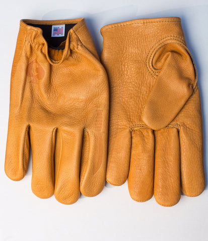 "Choppahead Kevlar-Lined ""Defender"" Gloves (Men's) - Tan"