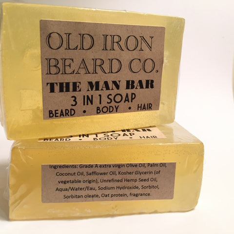 Old Iron Beard Co. - 3 in 1 Soap