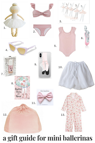 ballet inspired gift guide for girls