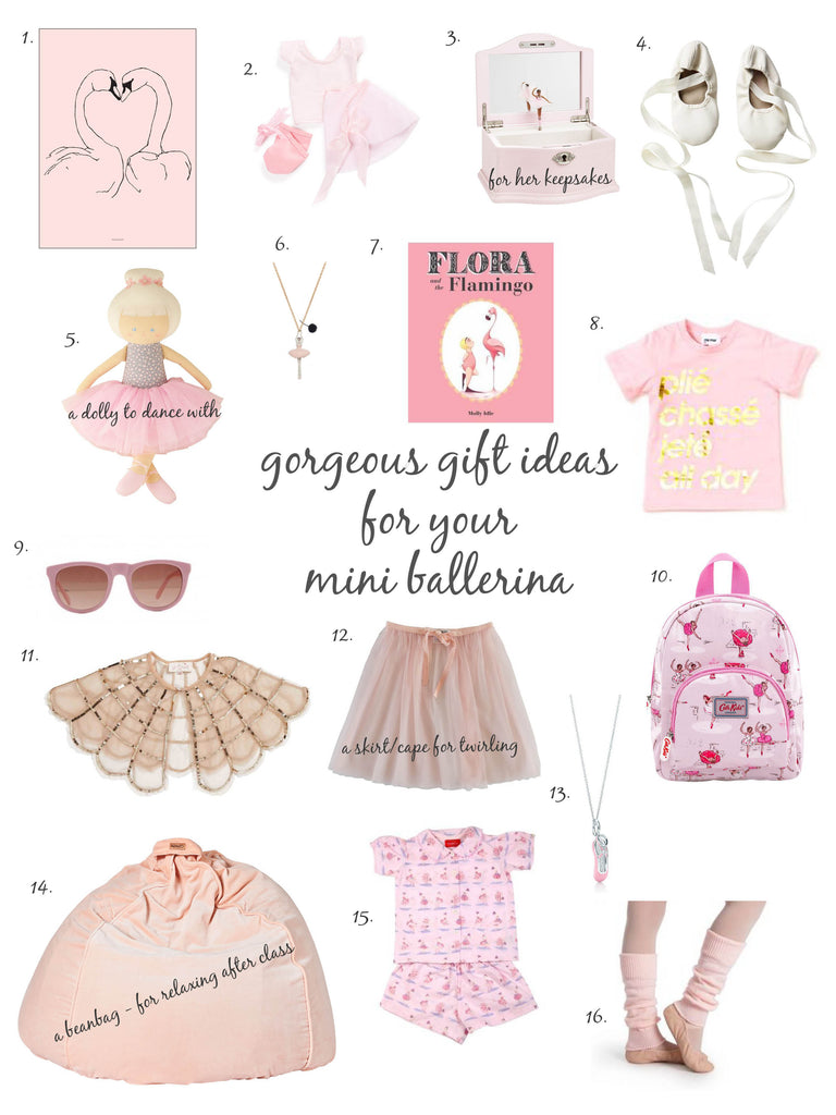 ballet inspired christmas gift ideas for little girls