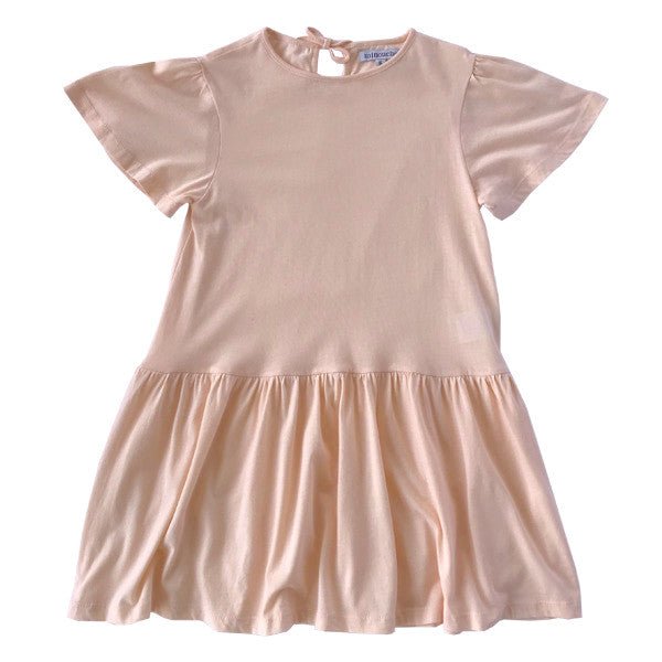 Evelyn dress - peachy blush