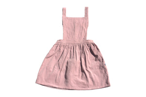 Matilda pinafore - sweet fig