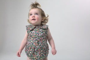 Evie playsuit - mimosa floral