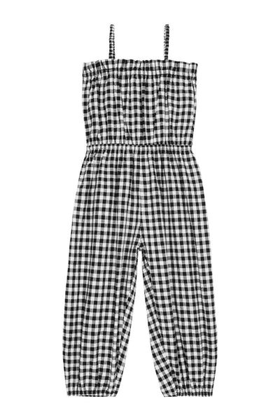 Dawn romper - gingham
