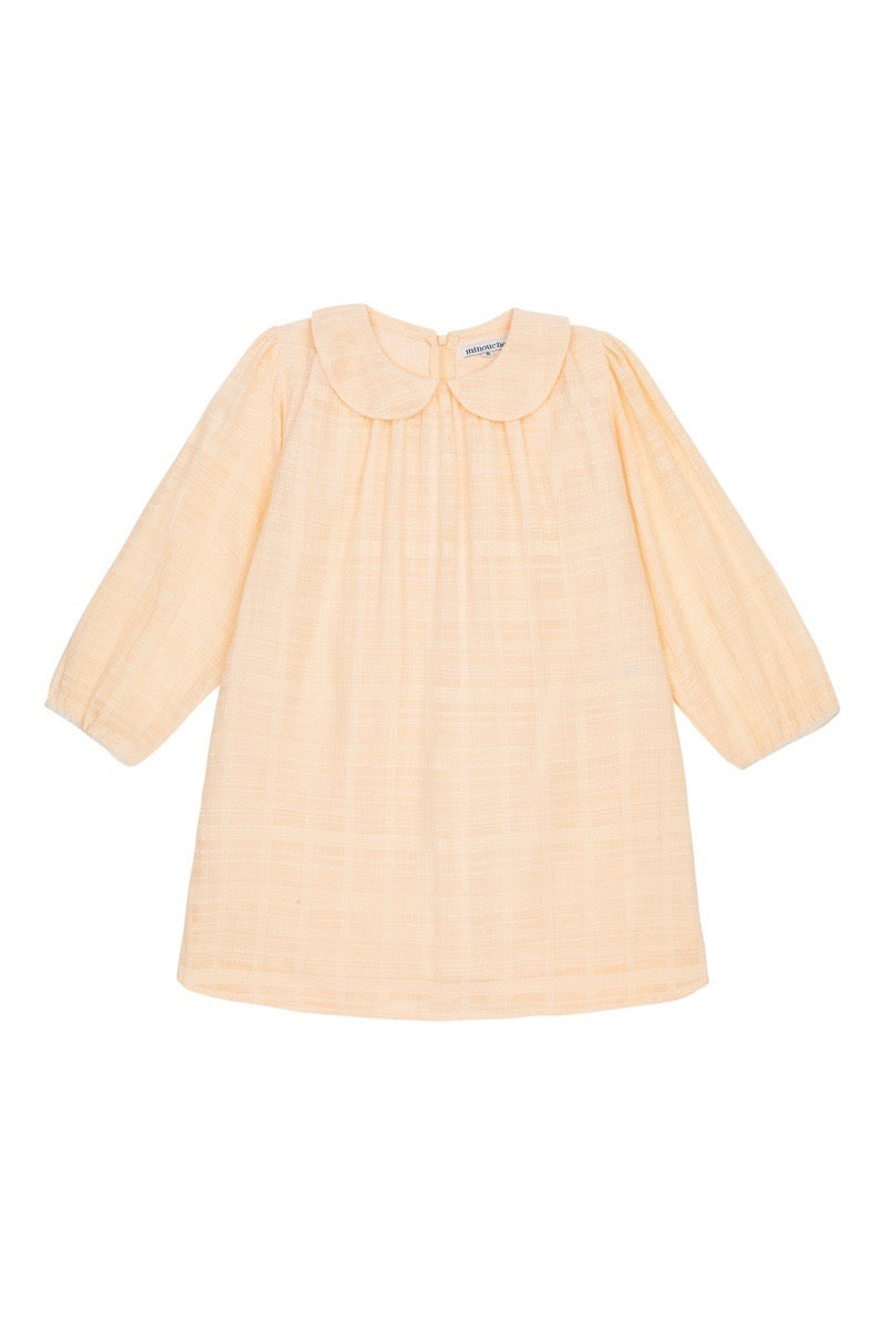 Magnolia dress - peach