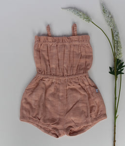 Solange sunsuit – dusty pink