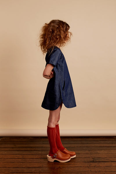 Sadie dress - denim