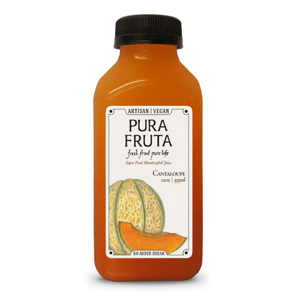 Pura Fruta Cold-Pressed Cantaloupe Juice 12oz