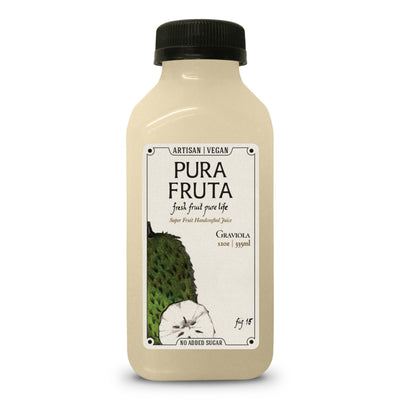 Pura Fruta Cold-Pressed Graviola / Soursop Juice 12oz