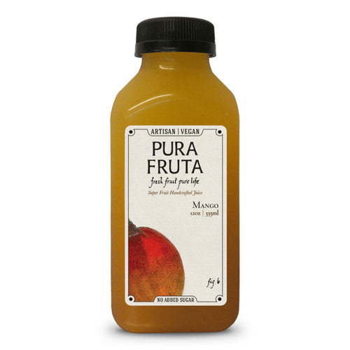 Pura Fruta Cold-Pressed Mango Juice 12oz