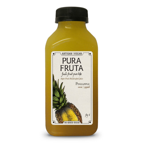 Pura Fruta Cold-Pressed Pineapple Juice 12oz