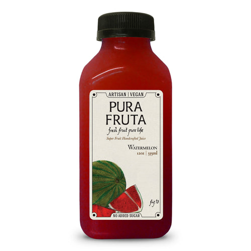 Pura Fruta Cold-Pressed Watermelon Juice 12oz