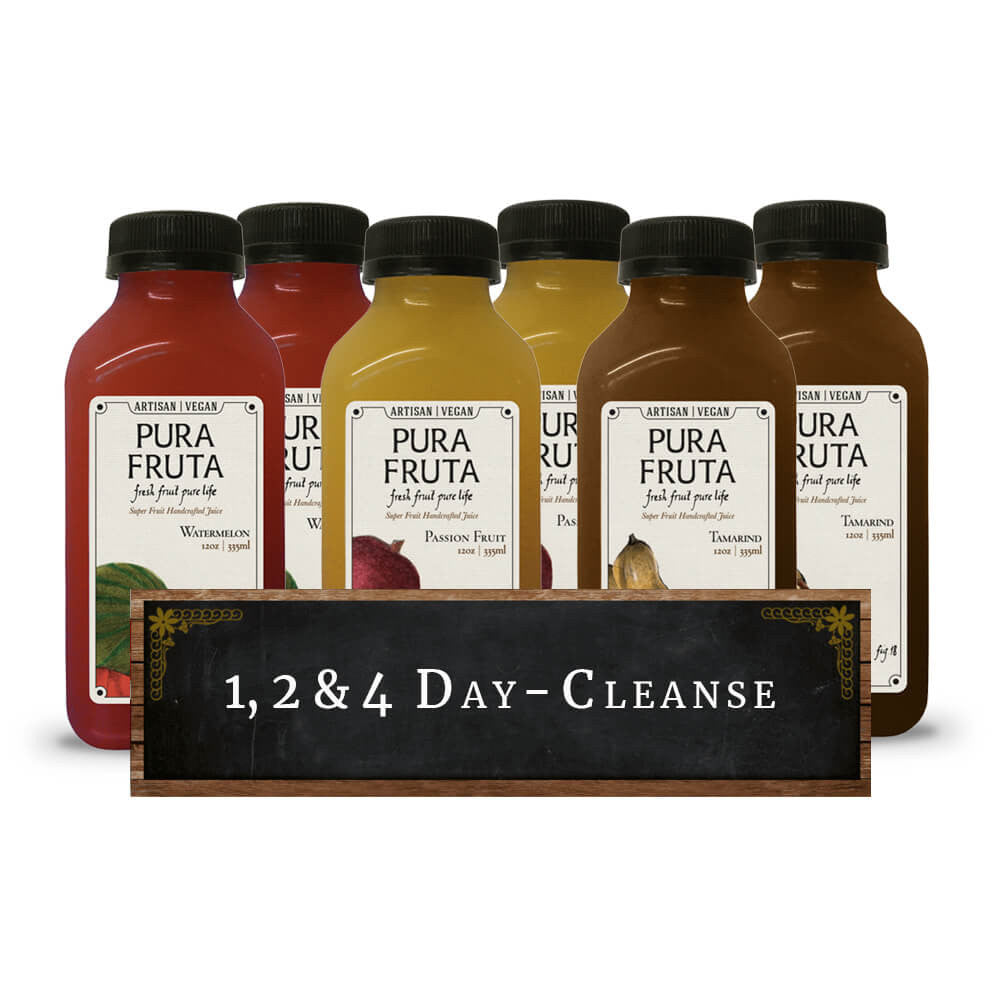 Pura Fruta Fruitarian Juice Cleanse