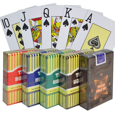 Try New 100% Plastic Playing Cards @ Amazing Prices!