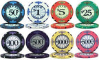 Scroll 10 Gram Ceramic Poker Chips