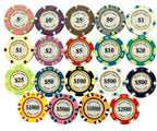 Monte Carlo Smooth 14 Gram Poker Chips