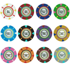 Claysmith The Mint 13.5 Gram Clay Poker Chips