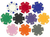 Striped Dice 11.5 Gram Poker Chips