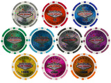 Las Vegas 14 Gram Clay Poker Chips