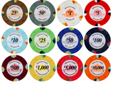 Lucky Monaco Casino 13.5 Gram Poker Chips