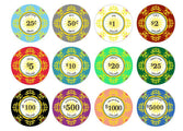 Classic Ceramic 10 Gram Poker Chips