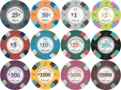 Poker Knights 13.5 Gram Clay Poker Chips
